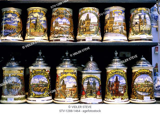 Alcoholic, Beer, Collection, Covers, Czech, Decorative, Drink, Drinking, Holiday, Houseware, Landmark, Lids, Mugs, Nutrition, Re