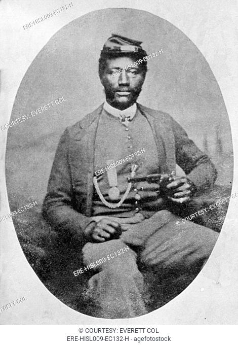 James Henry Harris 1832-1891, future North Carolina politician, was a recruiting officer in Indiana during the Civil War