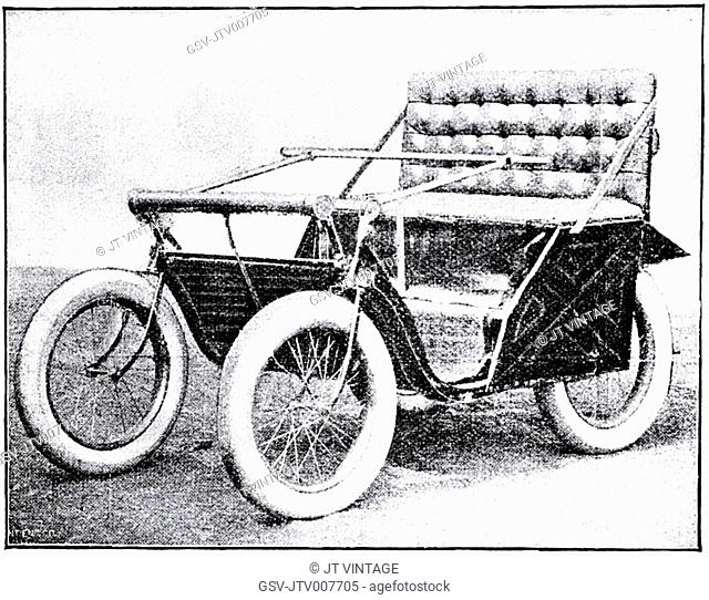 Victoria Motorette, Racine Motor Vehicle Company, circa 1895