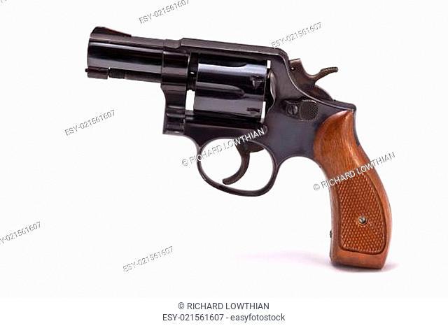 Modern Snubnose Revolver