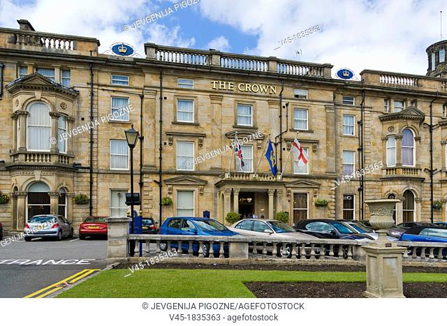 The Crown Hotel, Crown Place, Harrogate, North Yorkshire, England, UK