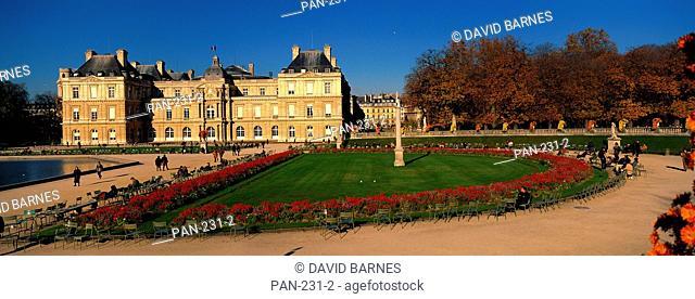 Luxembourg Garden, Paris, France, No Release