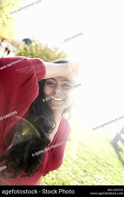 Indian woman. Tegernsee, Bavaria, Germany