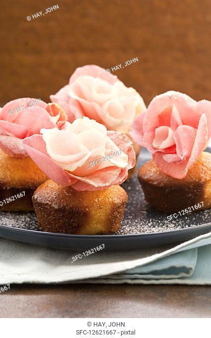 Easter semolina cupcakes
