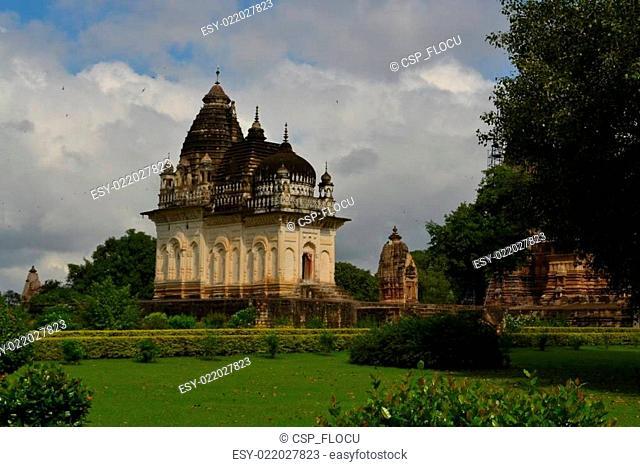Khajuraho Hindu and Jain temples, India