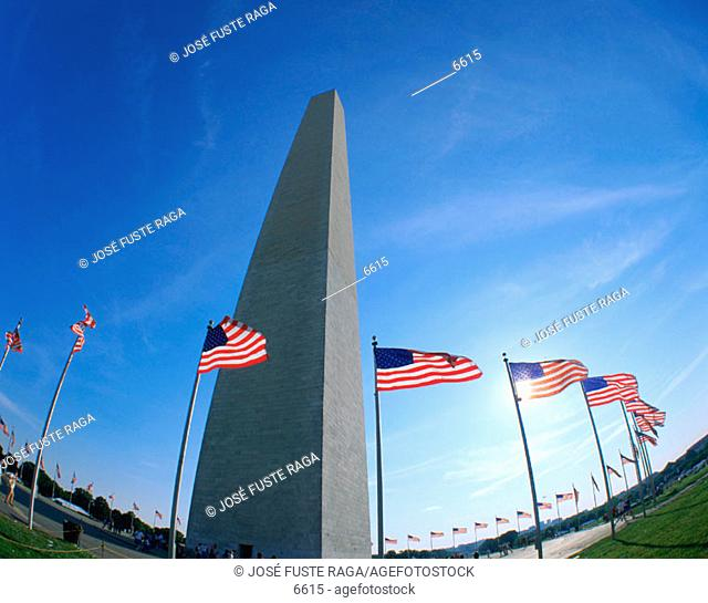 Washington monument. Washington D.C. USA