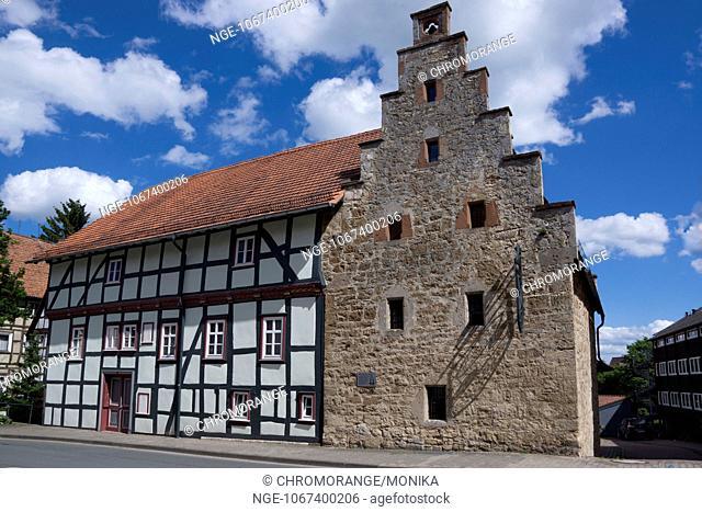Haunted House Korbach district Waldeck Frankenberg, Hesse, Germany, Europe