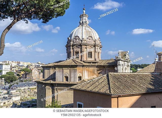 Chiesa dei Santi Luca e Martina, Rome, Lazio, Italy, Europe