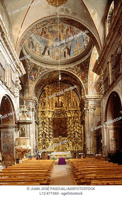 Church of Santo Domingo, Huesca. Aragón, Spain