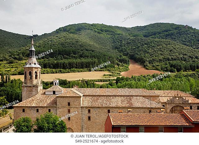 Monastery of Yuso, San Millan de la Cogolla, Way of St James. La Rioja, Spain