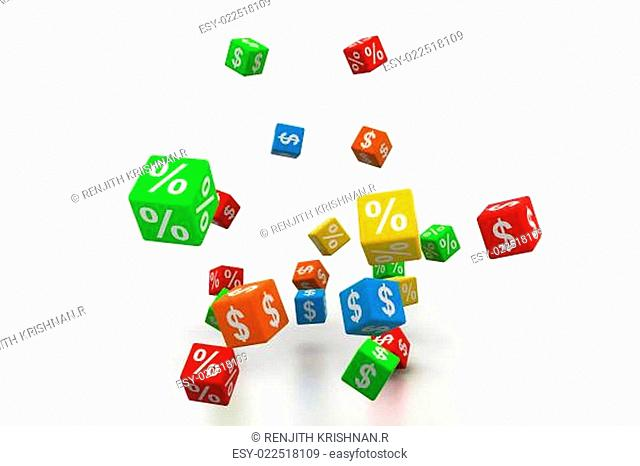 Percentage and dollar cubes