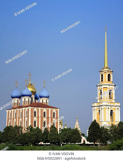 Dormition cathedral 1699, Ryazan Kremlin, Ryazan region, Russia