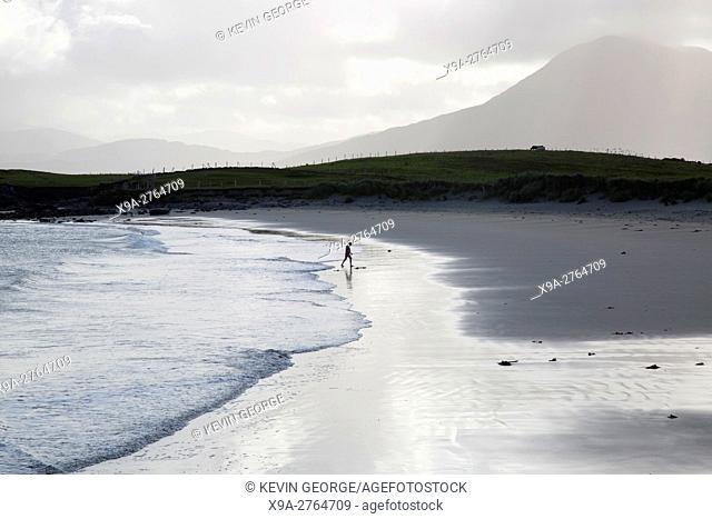 Renvyle Beach in Tully; Connemara; Galway; Ireland