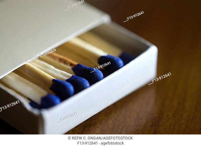 match box on table