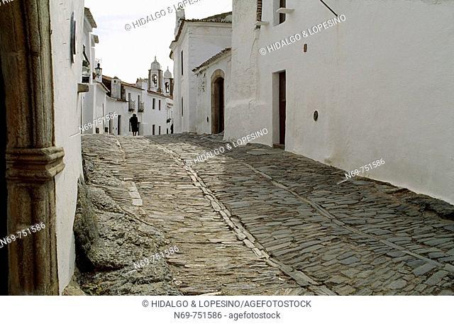 Monsaraz, fortified medieval village. Alto Alentejo, Évora, Portugal