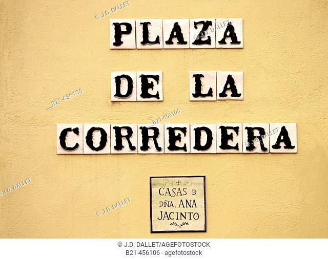 'Plaza de la Corredera' at Córdoba. Andalucia. Spain