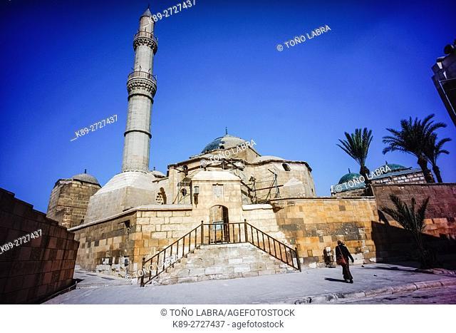 Sulaiman Pasha Al-Khadim Mosque (1528). Citadel. Cairo. Egypt