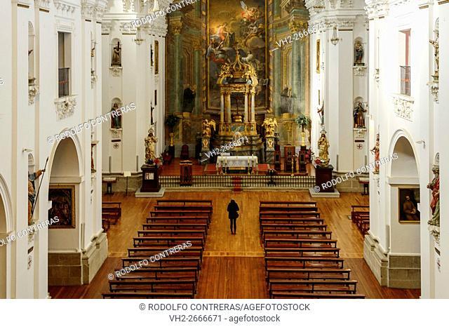 The Jesuitas church, Toledo