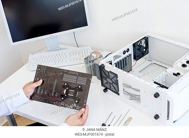 Assembling of a personal computer