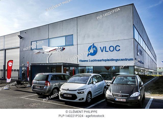 Vlaams Luchtvaartopleidingscentrum / VLOC / Flemish aviation training center in Ostend, Belgium