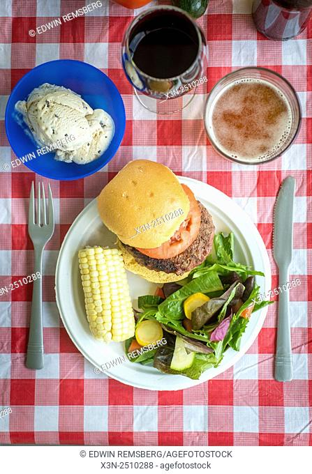 The Perfect Picnic Plate