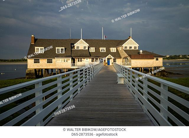 USA, Massachusetts, Cape Ann, Annisquam, Annisquam Yacht Club