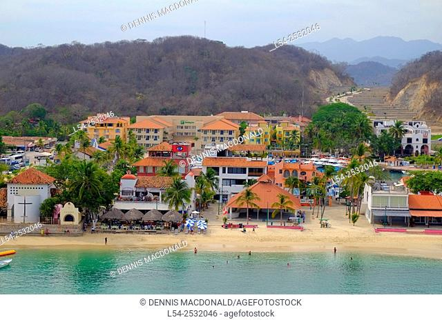 Huatulco Mexico Oaxaca Pacific Ocean
