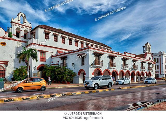 Teatro Colon, Cartagena de Indias, Colombia, South America - Cartagena de Indias, Colombia, 28/08/2017