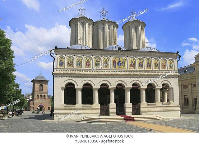 The Patriarchal Cathedral and the Bell Tower, Bucharest, Romania