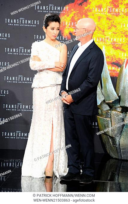 European premiere of \Transformers 4 - Aera des Untergangs (Transformers: Age of Extinction)\ at Cinestar am Potsdamer Platz movie theater