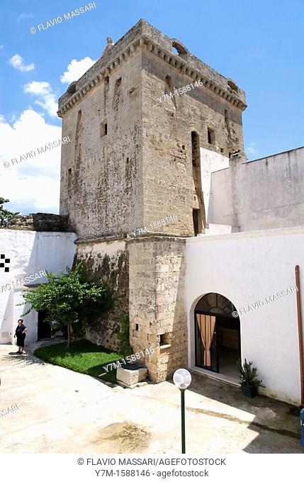 Italy: Apulia, Morciano di Leuca Lecce in the castle