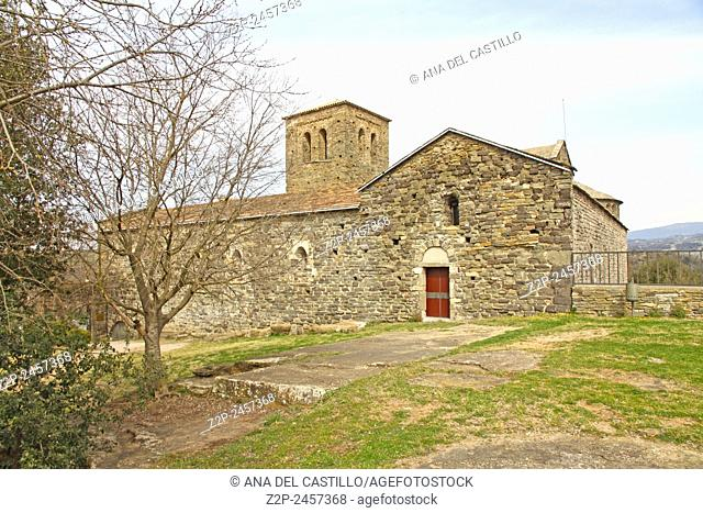 Benedictine monastery of Sant Pere de Casserres in Catalonia