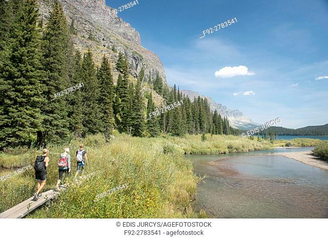 Traveling throughout Montana National Glacier Park