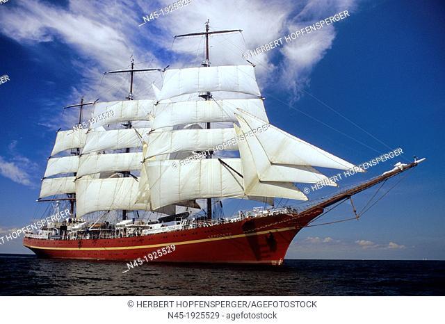 Kiel Week; Khersones; Ukrainian Sailing Ship; Germany