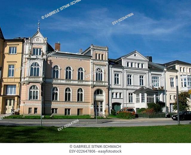 Stadthäuser in Schwerin