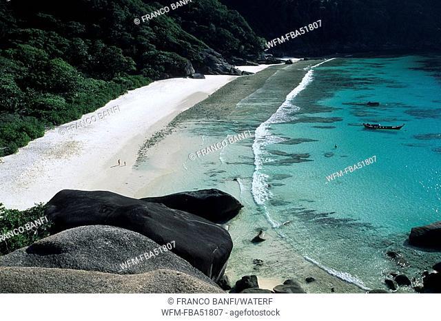 Beach of Similan-Islands, Andaman Sea, Thailand