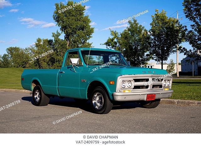 1971 GMC Pick up truck; Magog, Quebec, Canada