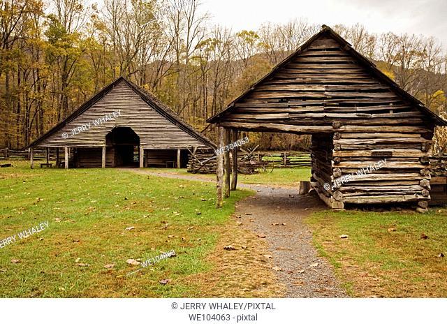 Oconaluftee Pioneer Homestead, Great Smoky Mtns National Park, NC