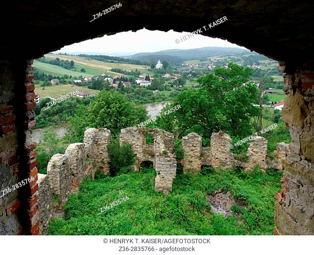 The Ruins Of The Monastery Of The Discalced Carmelite Fathers In Zagorze Near Sanok, Poland