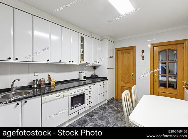 Kitchen, Apartment, Legazpi, Gipuzkoa, Basque Country, Spain, Europe