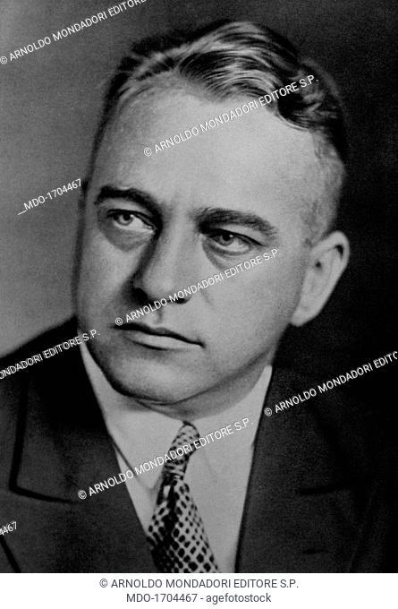 Portrait of Joseph Buerckel. Portrait of the Nazi party leader Joseph Buerckel. Germany, the '30s