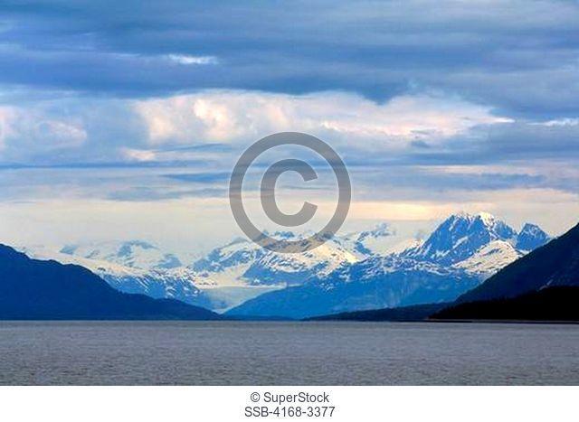 Usa,Alaska,Glacier Bay Np, View Into Bay