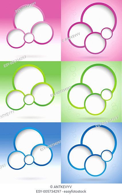 blank web design bubble