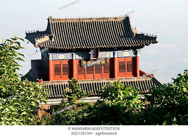 On top of Mount Tai, temple, architecture