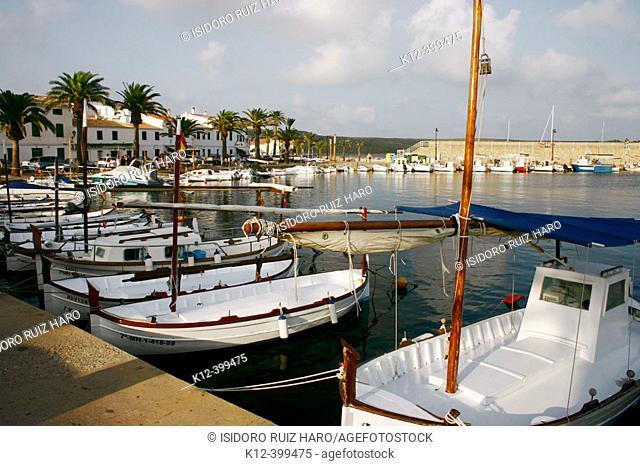 Fornells. Minorca, Balearic Islands. Spain