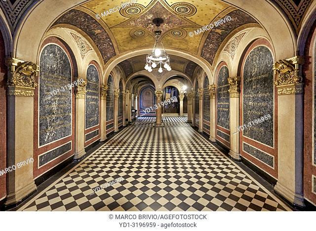 The Holy Trinity Greek Orthodox Church. Vienna Austria