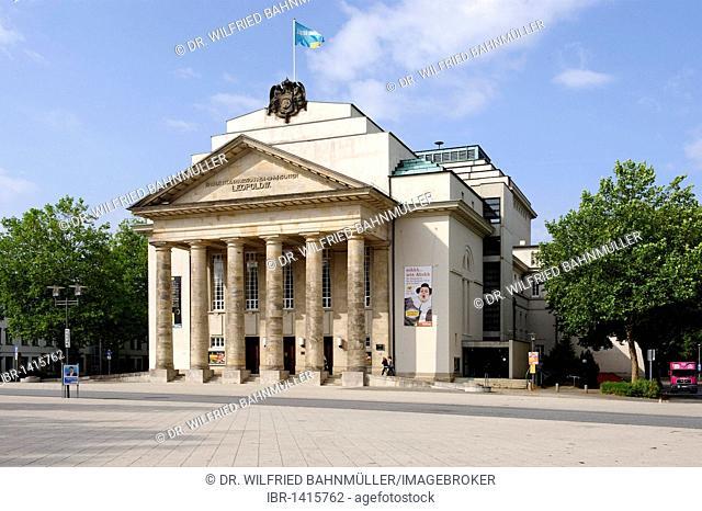 Landestheater Detmold, regional theatre, North Rhine-Westphalia, Germany, Europe