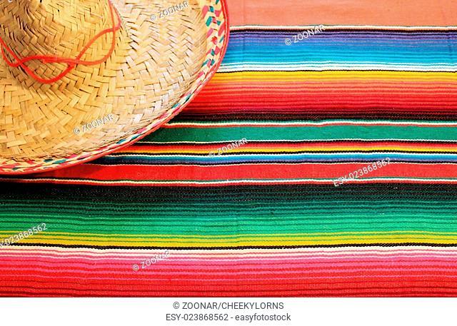 striped poncho serape background