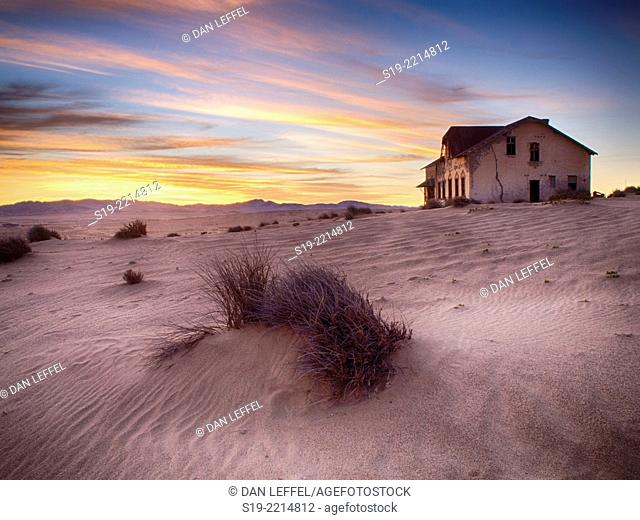 Namibia, Kolmanskop, Abandoned ghost town