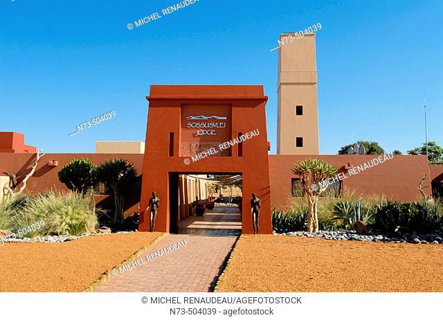 Sossusvlei Lodge. Sossusvlei. Namibia